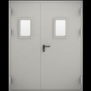 Купить противопожарные двери ДМП 02/60 с остеклением