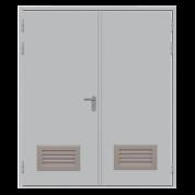 Противопожарные двери от производителя ДМП 02/60 с вентиляцией